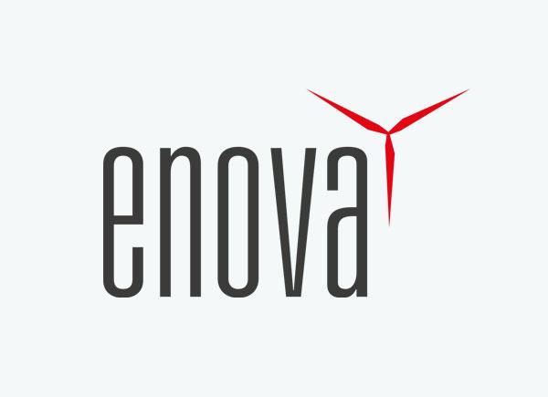 Logo von enova